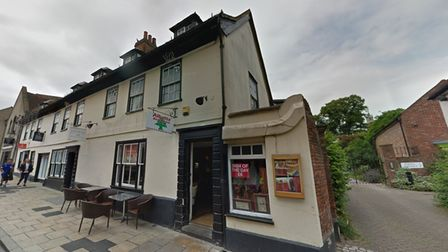 Albatta Restaurant — a tradename for Eat Food Limited — in Sir Isaac's Walk, Colchester