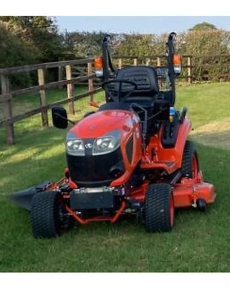 A Kubota BX231 lawn mower was stolen from a barn in Wickhambrook over the New Year period.