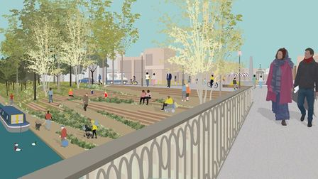 Transformation of the riverside in March is part of the regeneration programme that can now get under way.