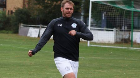 Soham Town Rangers player-boss vows to do his best