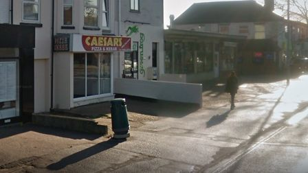 Caesar's Pizza and Kebab on Dereham Road, which owed the tax authorities £400,000 when it went into liquidation