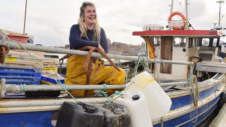 Ashley Mullinger is The Female Fisherman and one of the few women working in the fishing industry in
