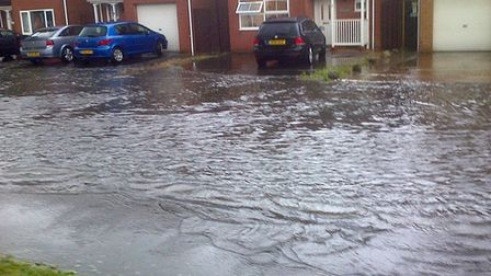 March floods readers pictures. Dagless Way. Picture: Scott Weeks.