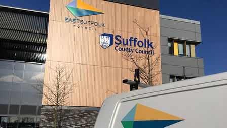 East Suffolk Council's headquarters in Lowestoft. The council has lodged a schemeto change aresidential three-storey...