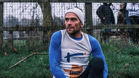 Marathon man defies expectations to raise thousands for Cambs charity