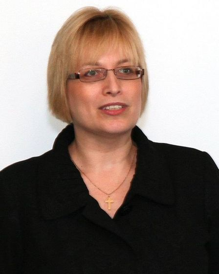 Amanda Carlin istrust governor and vice chairman of the local governing body at Neale-Wade Academy in March.