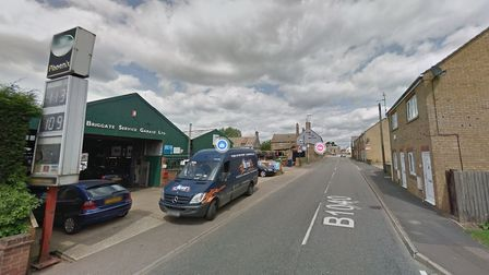 """Armed police were called to an """"incident involving weapons"""" on Ramsay Road in Whittlesey which turned out to be a false..."""