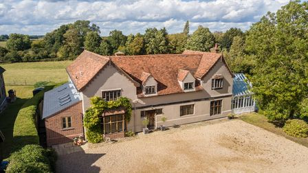 Jermyns Farm in Capel St Mary is on the market with a guide price of £1.25million with Jackson-Stops