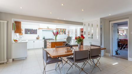 An interior at Jermyns Farm, which is on the market