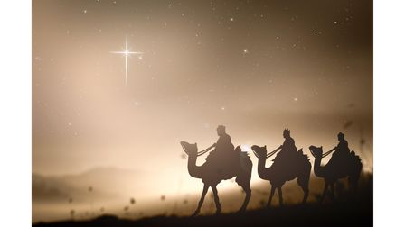 The 'three kings' from the Nativity