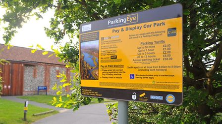 Whitlingham visitors centre and car park where some users have been issued penalty fines by Parking