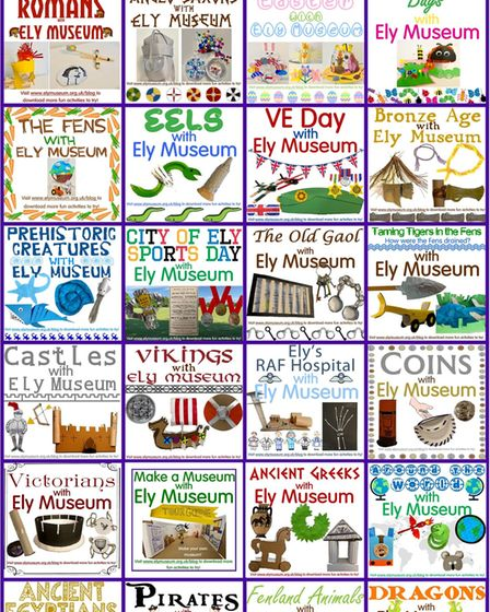 Museum from Home activities