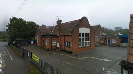 Police are investigating after windows were smashed at Corpusty Primary School.
