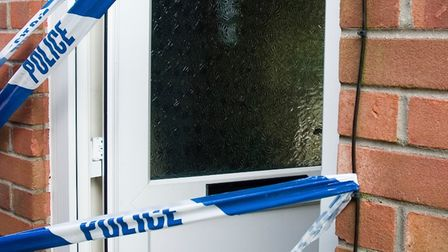 """Police in Cambridgeshire are urging home workers to """"make it hard forburglars"""" to break in."""
