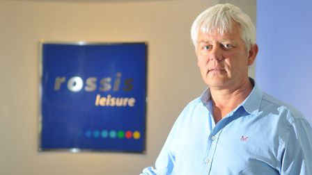 Rossis Leisure centre at North Walsham. Owner Bruce Rossi. PHOTO: ANTONY KELLY