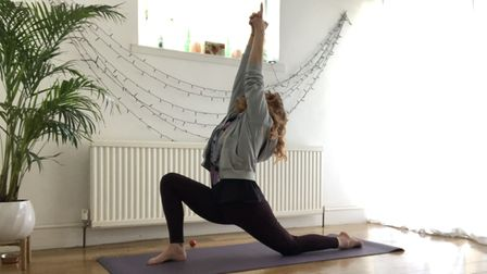Lexi Spall, a yoga teacher from Gorleston, gives seven moves for you to try at home during lockdown.