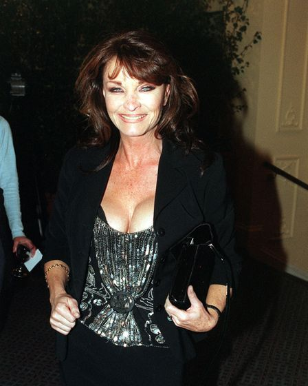 PA NEWS PHOTO 6/10/98 ACTRESS KATE O'MARA ATTENDS THE RELAUNCH OF THE OLD VIC THEATRE IN LONDON.