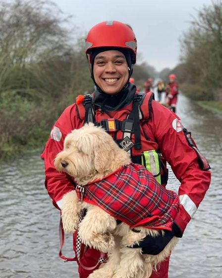 Pet rescue for Cambs fire