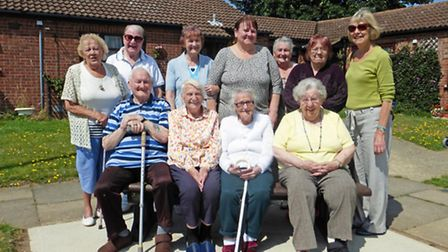 Ecclestone Court residents have seen their benches replaced by Great Yarmouth Borough Council