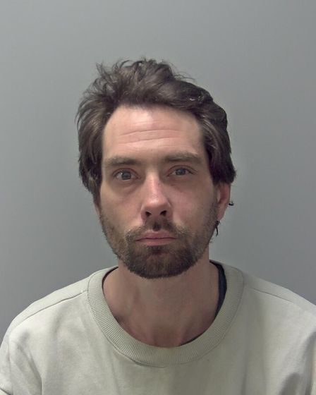 Thomas Pawlak was jailed for 34 months at Ipswich Crown Court after committing a burglary