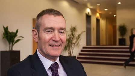 Kevin Horne, NWES chief executive, at Rouen House in Norwich. Photo: Bill Smith