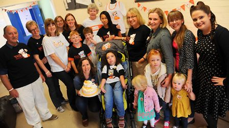 A tea party to raise money for the Tay Sachs Foundation is held in Thetford by Deborah Alford who's