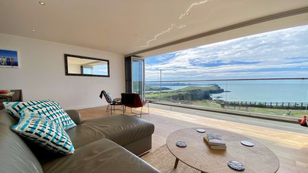 looking out of holiday home with great view