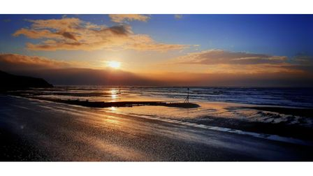 John Sumner's entry for the Exmouth and Budleigh sunrise and sunset competition