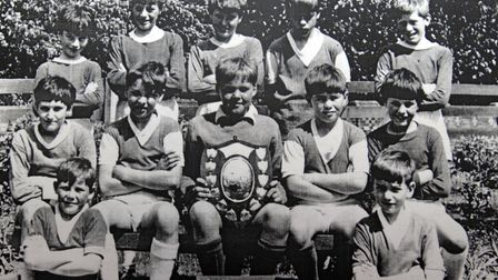 Star Neil 2 3 8St Mary's and Farlingaye School ReunionSt Mary's Football Team 1966Pic Lucy