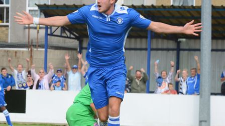 Shaun Bammant was on target for the Blues against Leamington.