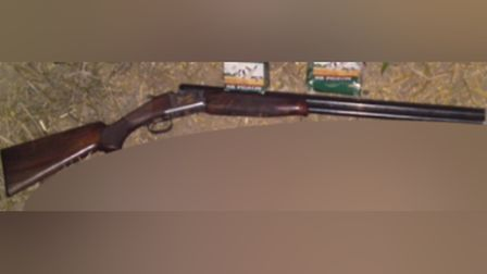 The Browning shotgun missing from the home of Donald Ralph