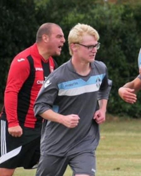 Zach Bygrave, pictured playing for Easton FC