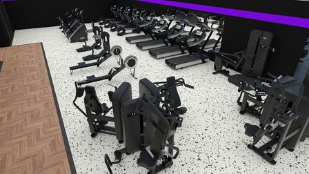 Designs for the new gym which is set to open in Brandon.