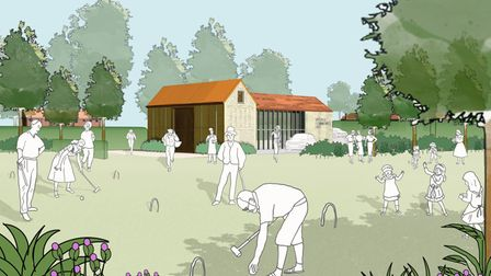 An artist's impression of the primary school