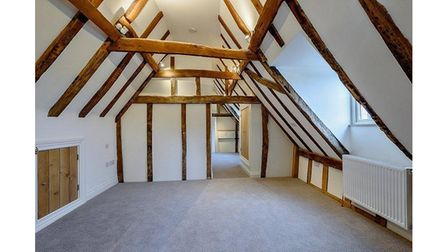 Four bedrooms feature period features within the house.