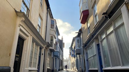 The first weekend of the third national lockdown in Cromer