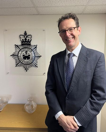 New assistant chief constable Rob Jones. Picture: SUFFOLK CONSTABULARY