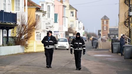 Aldeburgh during the first weekend of lockdown