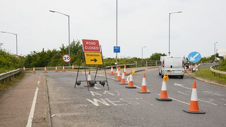 Roadworks on the A47 have now finished in King's Lynn. Picture: Ian Burt