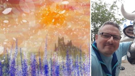 Andy Carruth and 'Four Seasons' digital painting