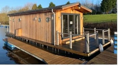Floating lodges not allowed at the Lazy Otter marina at Stretham, Picture; LAZY OTTER