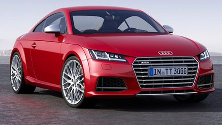 Guest appearance at Norwich Audi the new TT Coupe.
