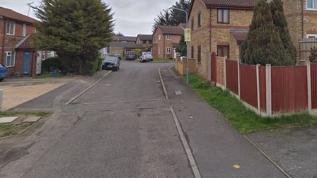 A Google street view image of Coulson Close in Dagenham