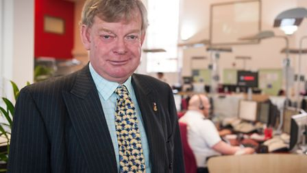 Police and Crime Commissioner Stephen Bett. Photo: Bill Smith