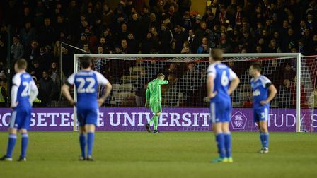 Ipswich are stunned by Lincoln's late FA Cup winner