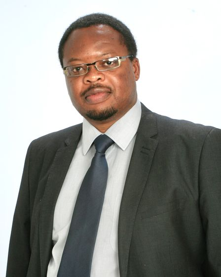 Phanuel Mutumburi, business and operations director at the Ipswich and Suffolk Council for Racial Equality (ISCRE)
