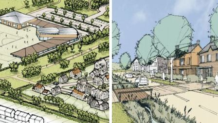 Approval for 1,000 homes - and effectively a new community within the town- was finally signed off on December 22 by...
