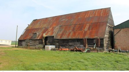 Tithe Barn, Chatteris, which will undergo repair as part of a commitment by developers given consent for 1,000 homes