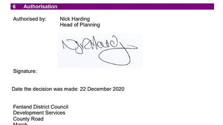 Signing on the dotted...a historic day for the new community planned for Chatteris