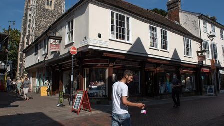 The Edinburgh Woollen Mill has now reopened in Ipswich Picture: SARAH LUCY BROWN